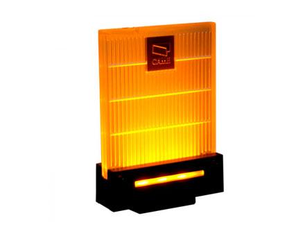 001DD-1KA Сигнальная лампа универсальная 230/24 В, светодиодное освещение янтарного цвета