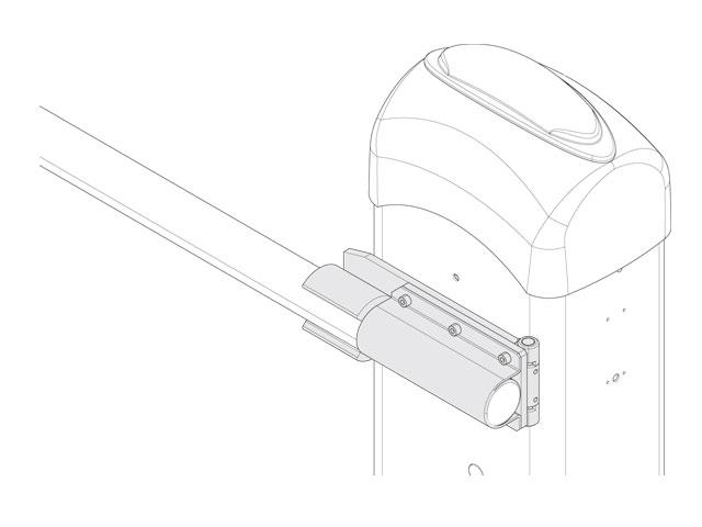 001G03000 Устройство защиты стрелы при столкновении с автомобилем для 001G3000DX/SX (только для круглой стрелы 001G0402)