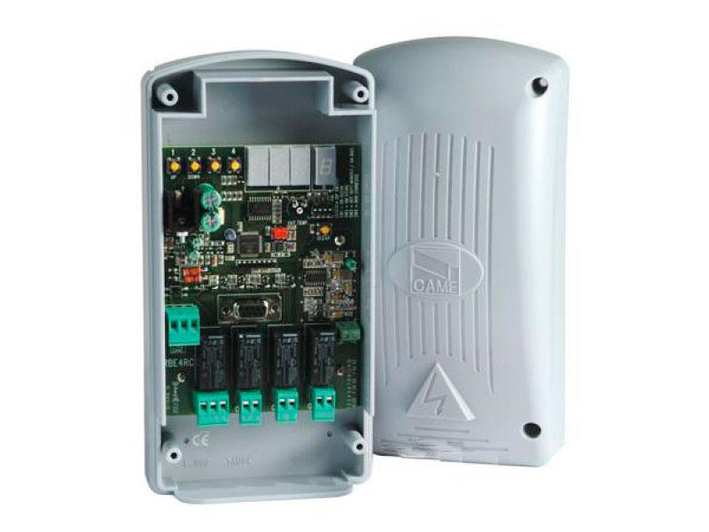 001RBE4RC Приемник 4-х канальный в корпусе в комплекте с 001AT04 (мастер)