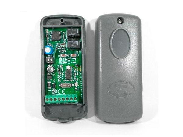 001RE862 Радиоприемник 2-х канальный в корпусе, универсальный, частота 868,35 МГц, для 001TOP-862EV, 001TOP-864NA