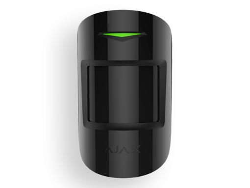 Ajax CombiProtect извещатель охранный оптико-электронный комбинированный радиоканальный