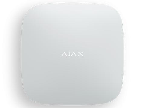 Ajax Hub Plus централь радиоканальная с Wi-Fi, Ethernet и поддержкой двух SIM-карт