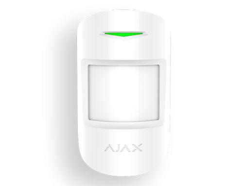 Ajax MotionProtect Plus извещатель охранный оптико-электронный радиоканальный