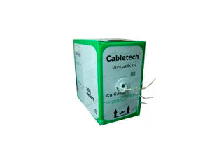 Cabletech кабель витая пара UTP4 cat.5e 4 пары Cu 305м