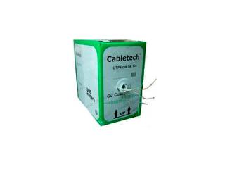 Cabletech кабель витая пара UTP4 cat.5e 4 пары Cu для наружных работ 305м