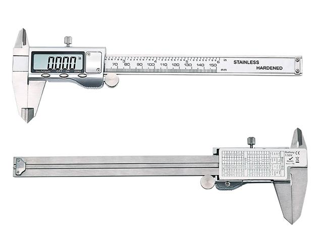 DiAl caliper штангенциркуль электронный металлический