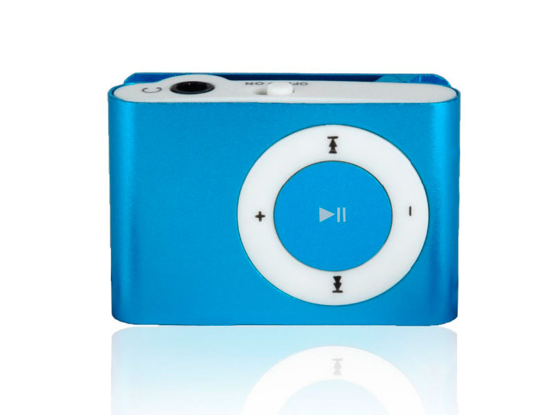 DiAl clip MP3 плеер (без наушников, без кабеля, без карты памяти)
