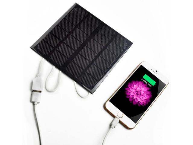 DiAl solar charger солнечное зарядное устройство для телефона, 590мА, 5В