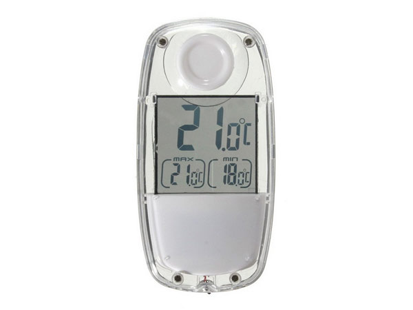 DiAl solar thermometer термометр на солнечной батарее