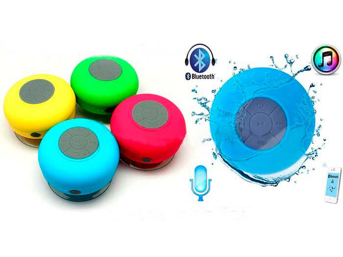 DiAl speaker BTS-06 беспроводная bluetooth водонепроницаемая колонка - гарнитура для душа