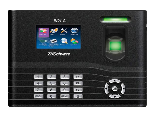 ZK IN01/ID Биометрический IP терминал УРВ со считывателем ЕМ