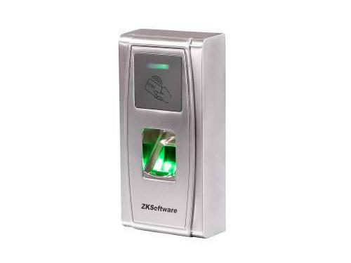 ZK MA300 Биометрический считыватель совмещенный со считывателем карт