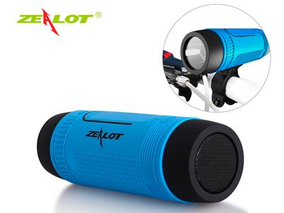Zealot S1 многофункциональная bluetooth колонка