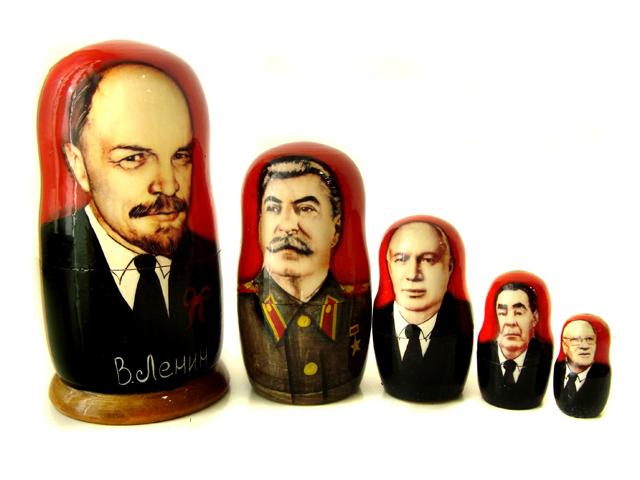 Матрешка - Советские вожди