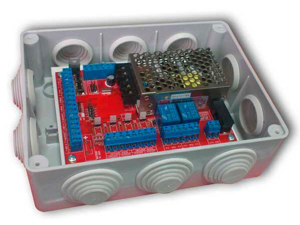 Блок управления светофором БСР-4