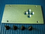 119RIG055 Пластина крепления стрелы G4000
