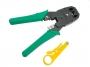 DiAl crimp кримпер для обжима телефонных и компьютерных клемм RJ11, RJ12, RJ45