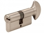 Цилиндр замковый с фиксатором 60 мм, хром